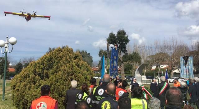 La Versilia commemora gli eroici piloti Stefano Bandini e Claudio Rosseti