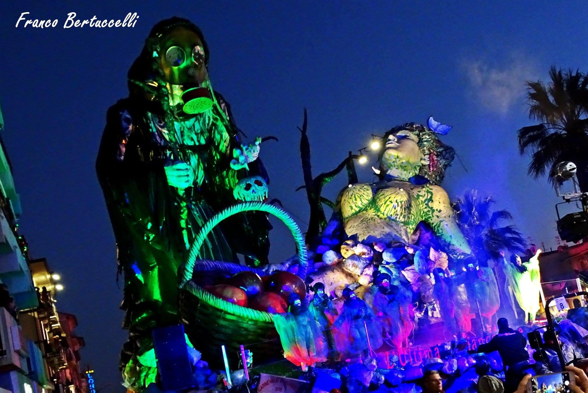 Carnevale di Viareggio 2019, vince L'ultima Biancaneve