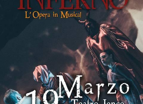 Dante inferno, al teatro Jenco arriva il musical sulla Divina Commedia