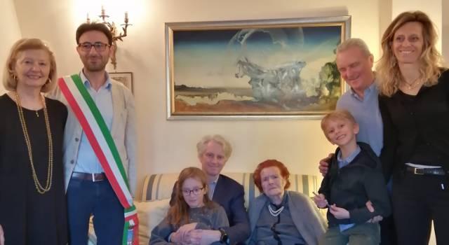 Dolores Ambrosini, cittadina di adozione più longeva a Pietrasanta