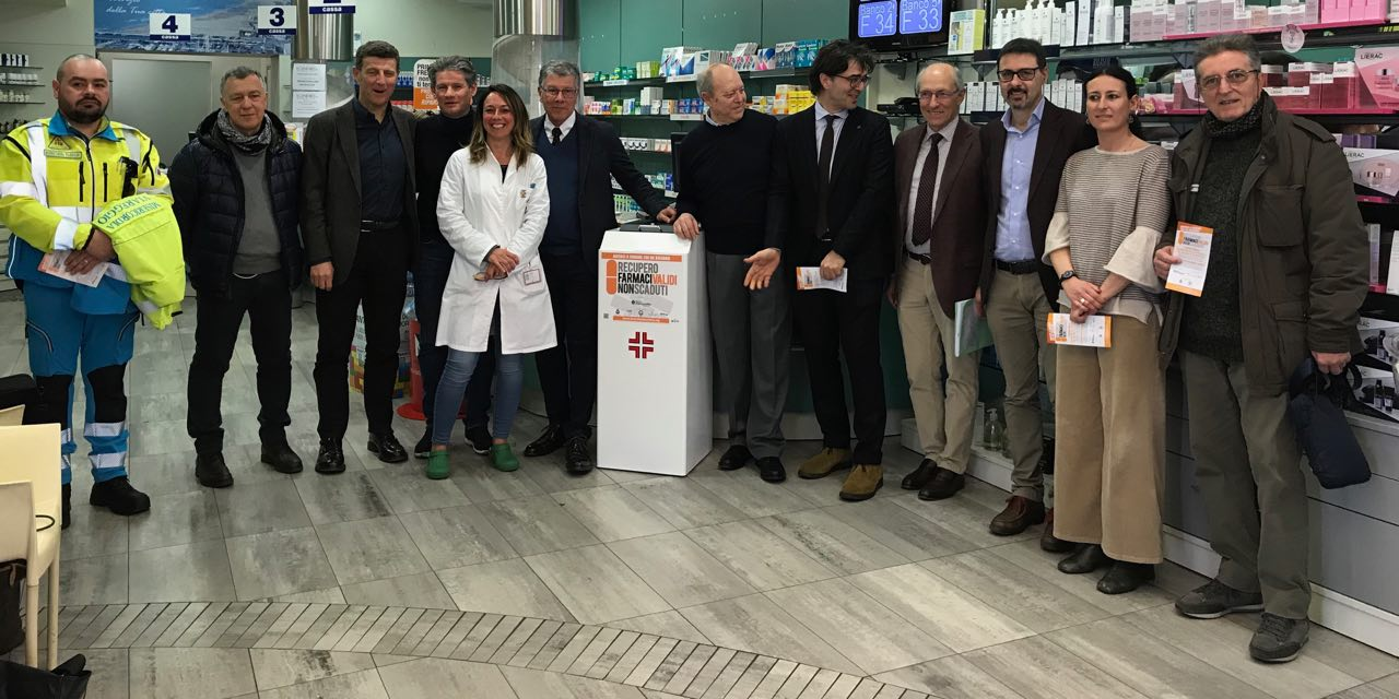 Parte a Viareggio il recupero dei farmaci validi non scaduti