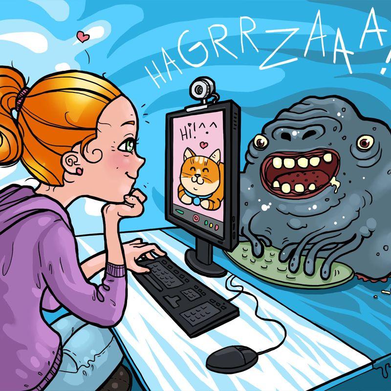 Come difendersi dal web, un libro per i bambini