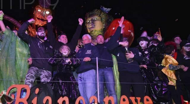 Carnevale di Viareggio, come ha votato la giuria: ecco la scheda dei carri di prima categoria