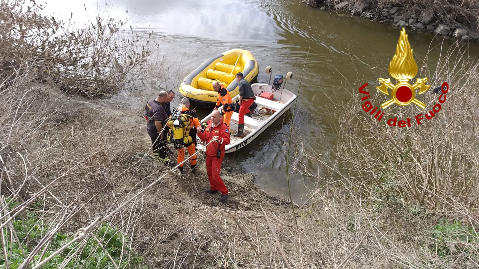 Cadavere in Arno, era in acqua da diversi giorni: disposta l'autopsia