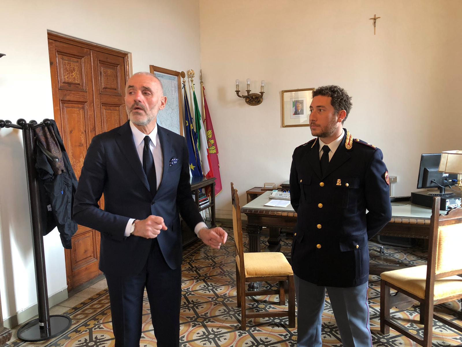 Si insedia il nuovo questore: Maurizio Dalle Mura si presenta alla stampa