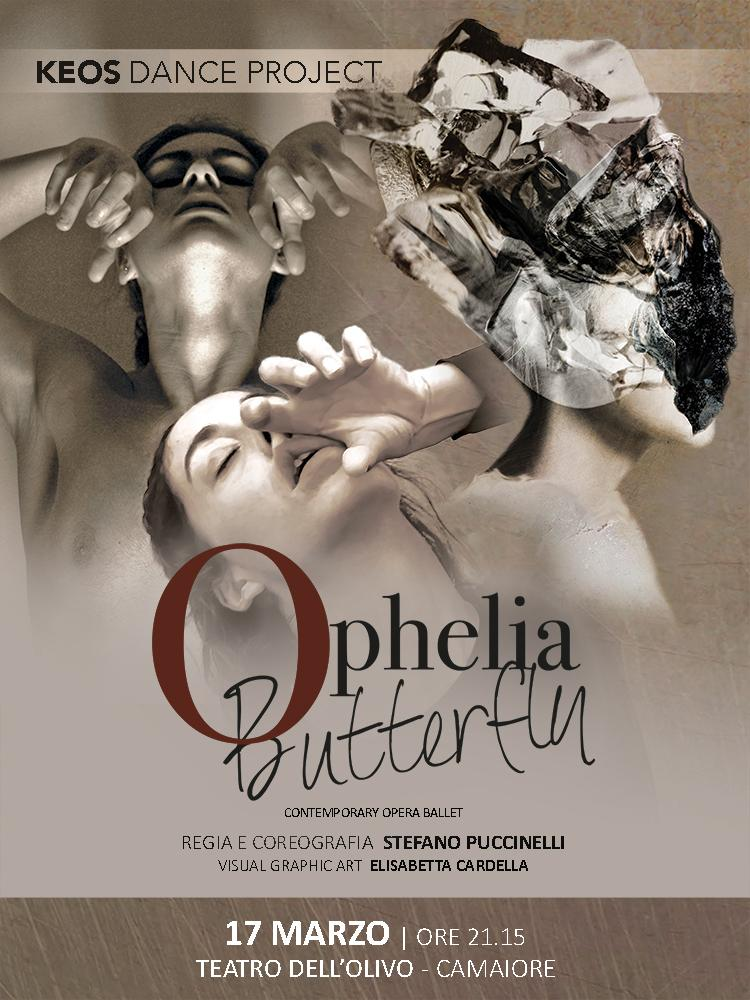 """Ophelia Butterfly"" al teatro dell'Olivo a Camaiore"