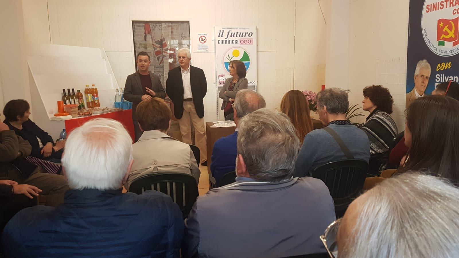 Inaugurato a Stiava il secondo comitato elettorale di Silvano Simonetti sindaco