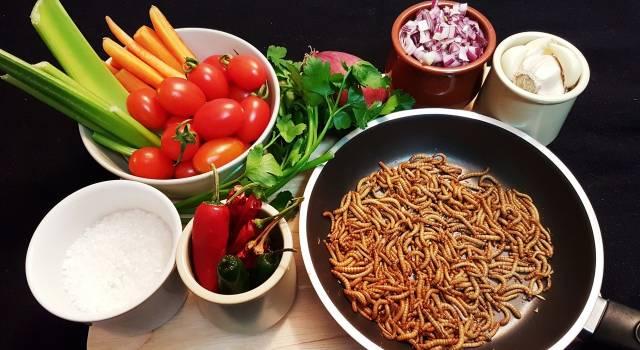 Giovani maschi e di buona cultura, ecco gli europei più propensi a consumare gli insetti come cibo