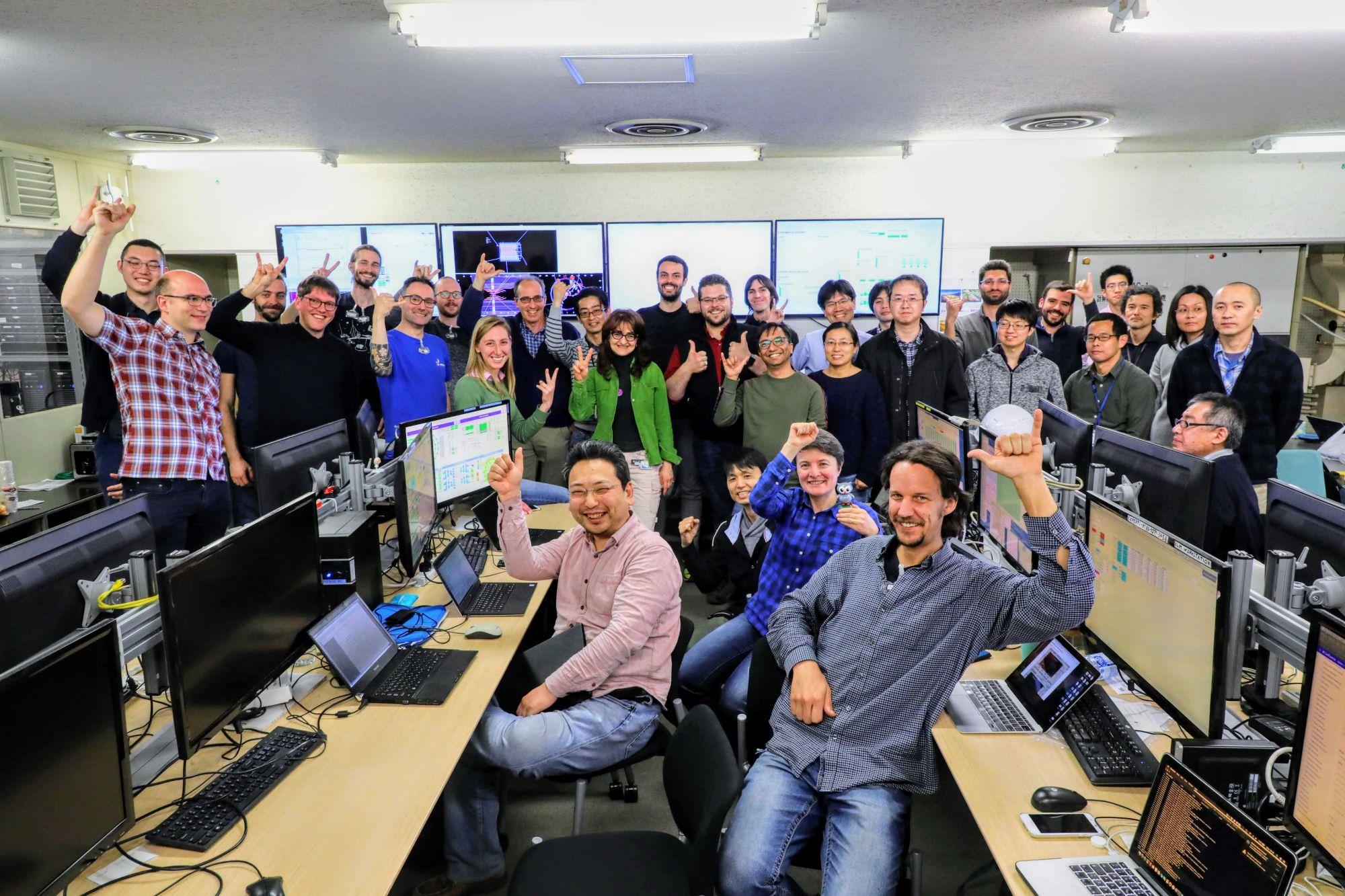 Giappone, al via prime collisioni elettrone-positrone: fisici di UniPi nel team