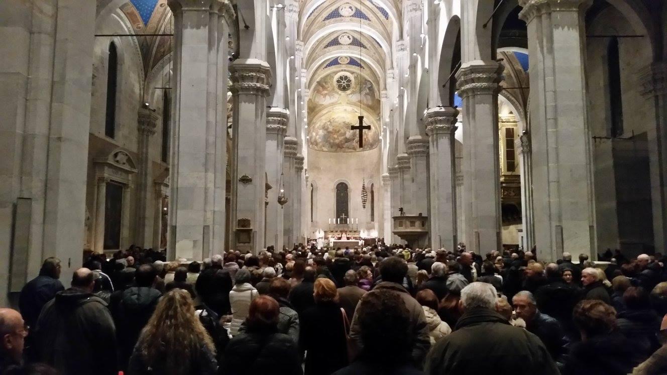 Veglia di Pasqua, l'omelia del Vescovo Italo Castellani