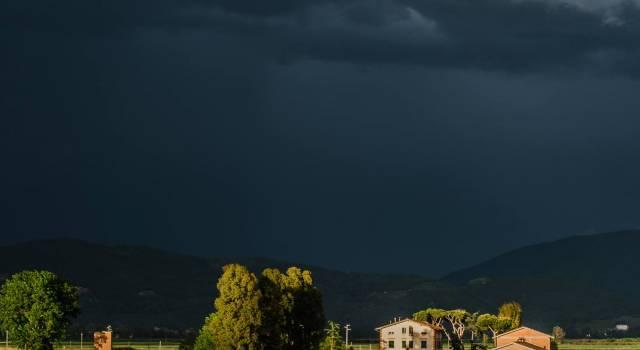 Il temporale di ieri sera nelle foto di Mirco Trivellato