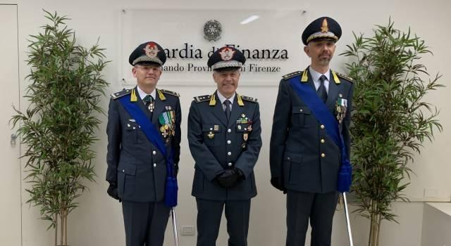 Cambio al vertice del Comando Provinciale della Guardia di Finanza di Firenze