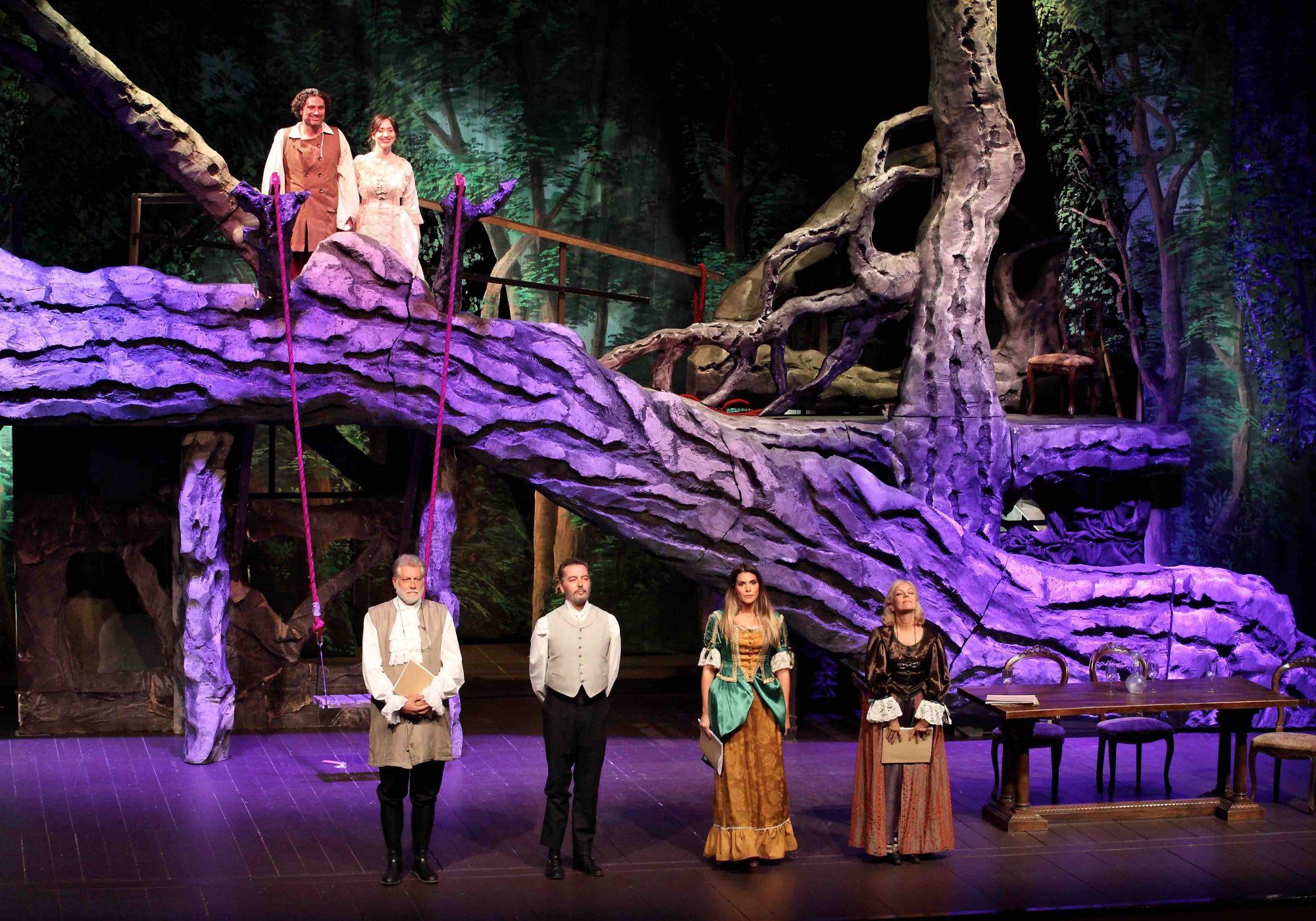 """La lettura-spettacolo de """"Il barone rampante"""" arriva  sul palco del Teatro Jenco"""