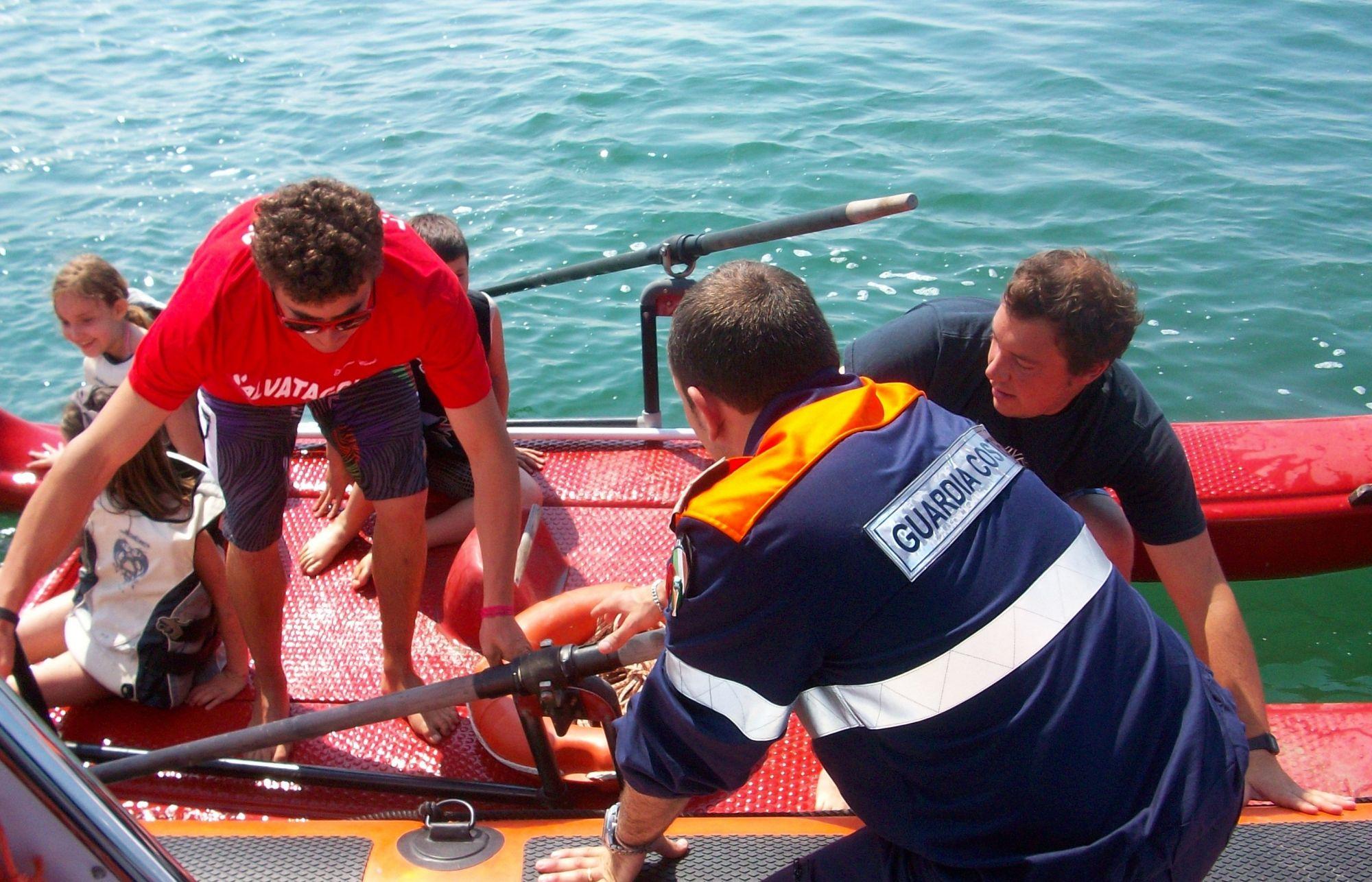 Ricerca e salvataggio in mare, esercitazione domani a Viareggio