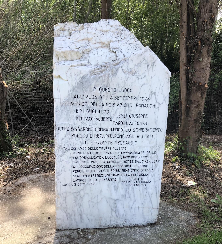 """""""Così salvammo Lucca"""": mercoledì 24 aprile cerimonia per ricordare i quattro partigiani"""