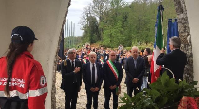 """""""Il contrario della parola fascismo è libertà"""", Veltroni a Stazzema per il 74° Anniversario della Liberazione"""