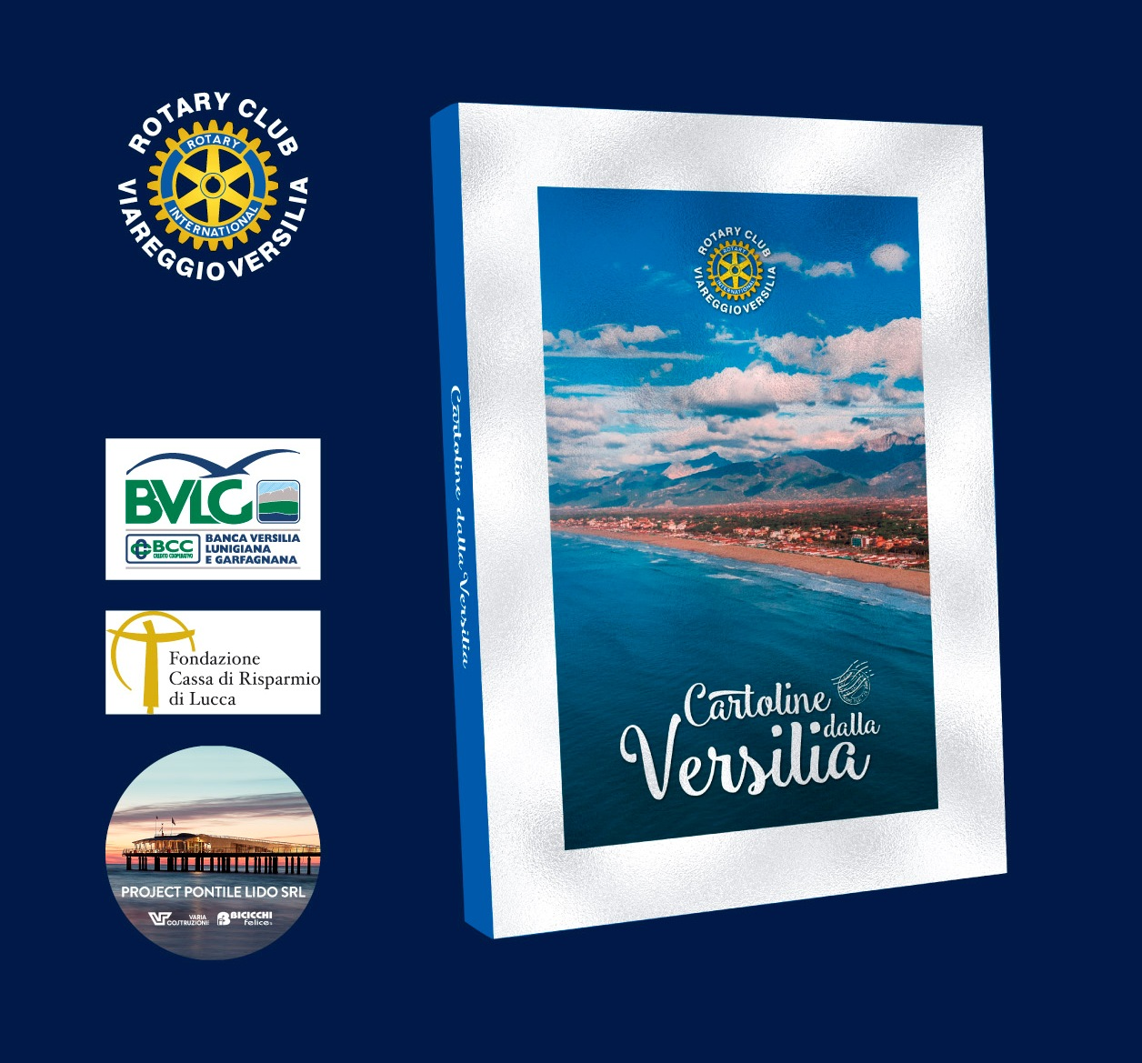 """""""Cartoline dalla Versilia"""" in vendita anche alla Croce Verde di Viareggio"""