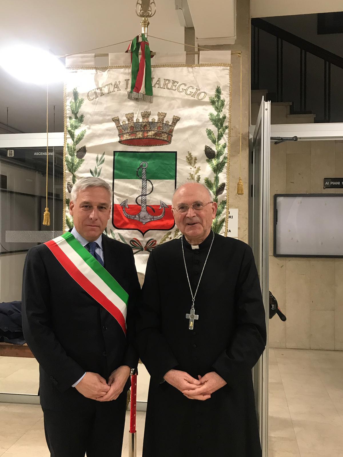 Viareggio, l'arcivescovo Giulietti per la messa del 2 novembre