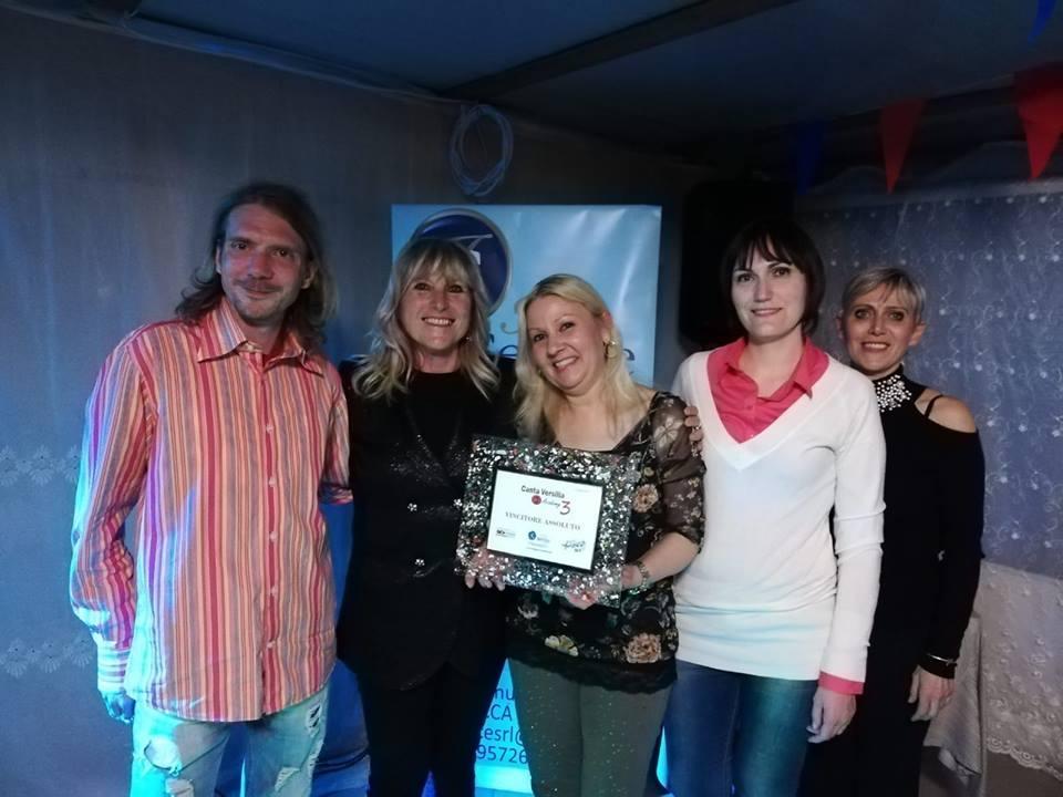 Canta Versilia Academy, vince Antonella Paglione