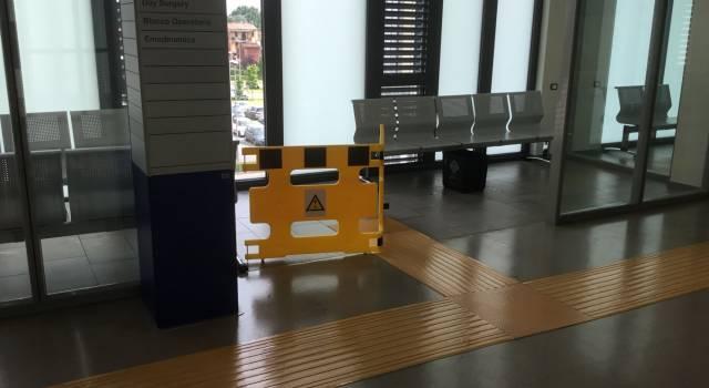 Atto di sabotaggio all'ospedale San Luca di Lucca: allagati i locali ed i corridoi