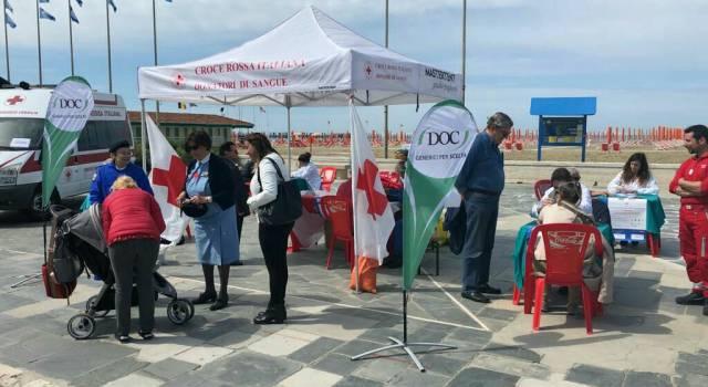 """Viareggio: interesse per la campagna di sensibilizzazione per """"conoscere la propria pressione arteriosa"""""""