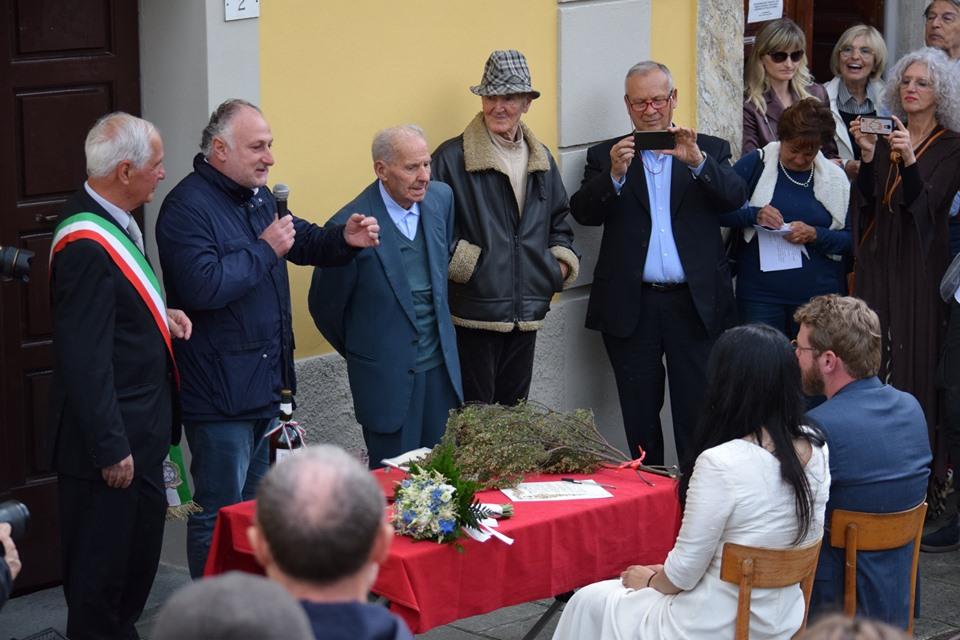 Matrimonio antifascista all'Anpi di Montignoso