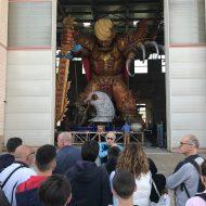 940 ragazzi partecipanti alla Festa dello sport nel Comune di Massa in visita alla Cittadella del Carnevale