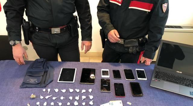 Operazione antidroga sulle colline di Monteggiori, uno straniero in arresto per spaccio