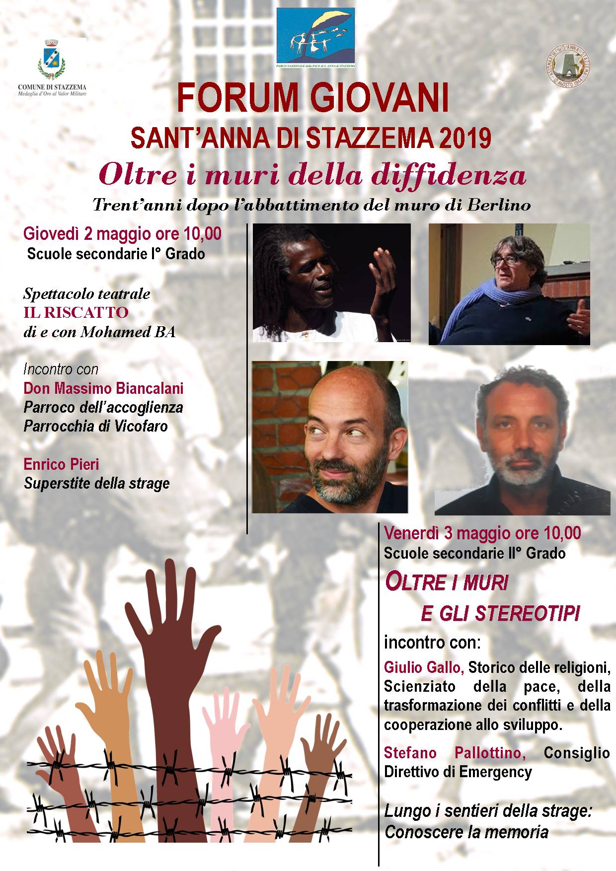 """""""Oltre i muri della differenza"""", Forum Giovani a Sant'Anna di Stazzema"""