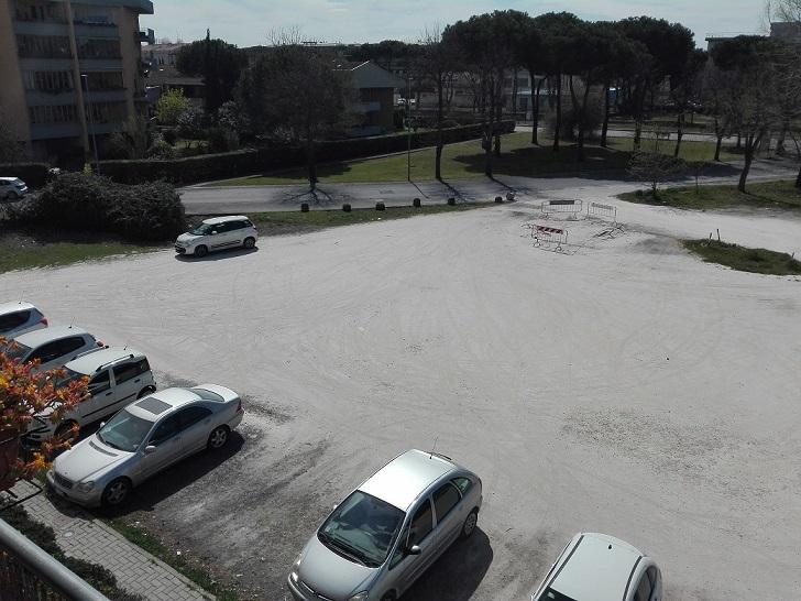 La marmettola viene utilizzata per pavimentare i parcheggi a Viareggio