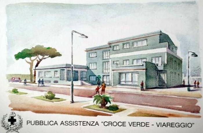La Croce Verde di Viareggio festeggia i 130 anni di attività: un'ambulanza dedicata a Alessandro Cecchi