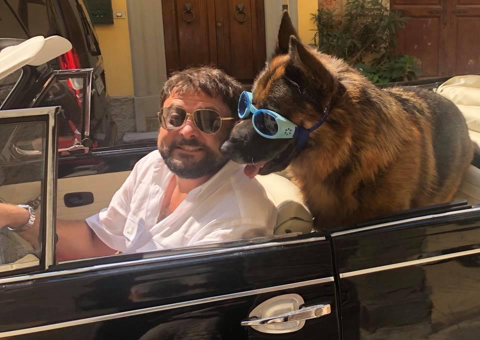 Ciao Ventuno: un male incurabile si è portato via il pastore tedesco dell'ex sindaco di Montecarlo