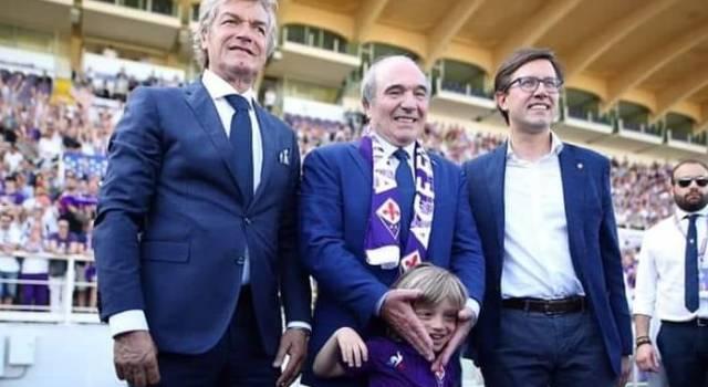 Folla al Franchi per dare il benvenuto a Commisso, il nuovo proprietario della Fiorentina