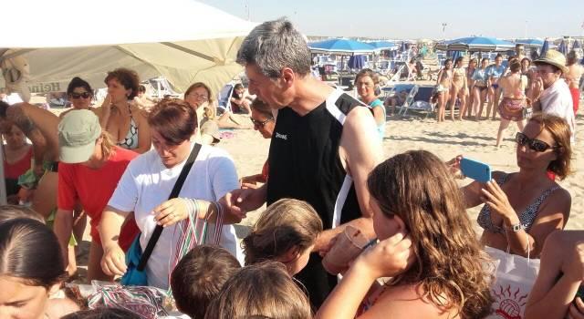 """Volley,  Fabio Vullo e Riccardo Fenili """"Oltre le dune"""" all'Andrea Doria"""