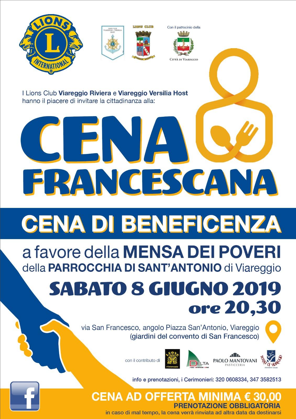 Lions a sostegno della mensa dei poveri della parrocchia di Sant'Antonio