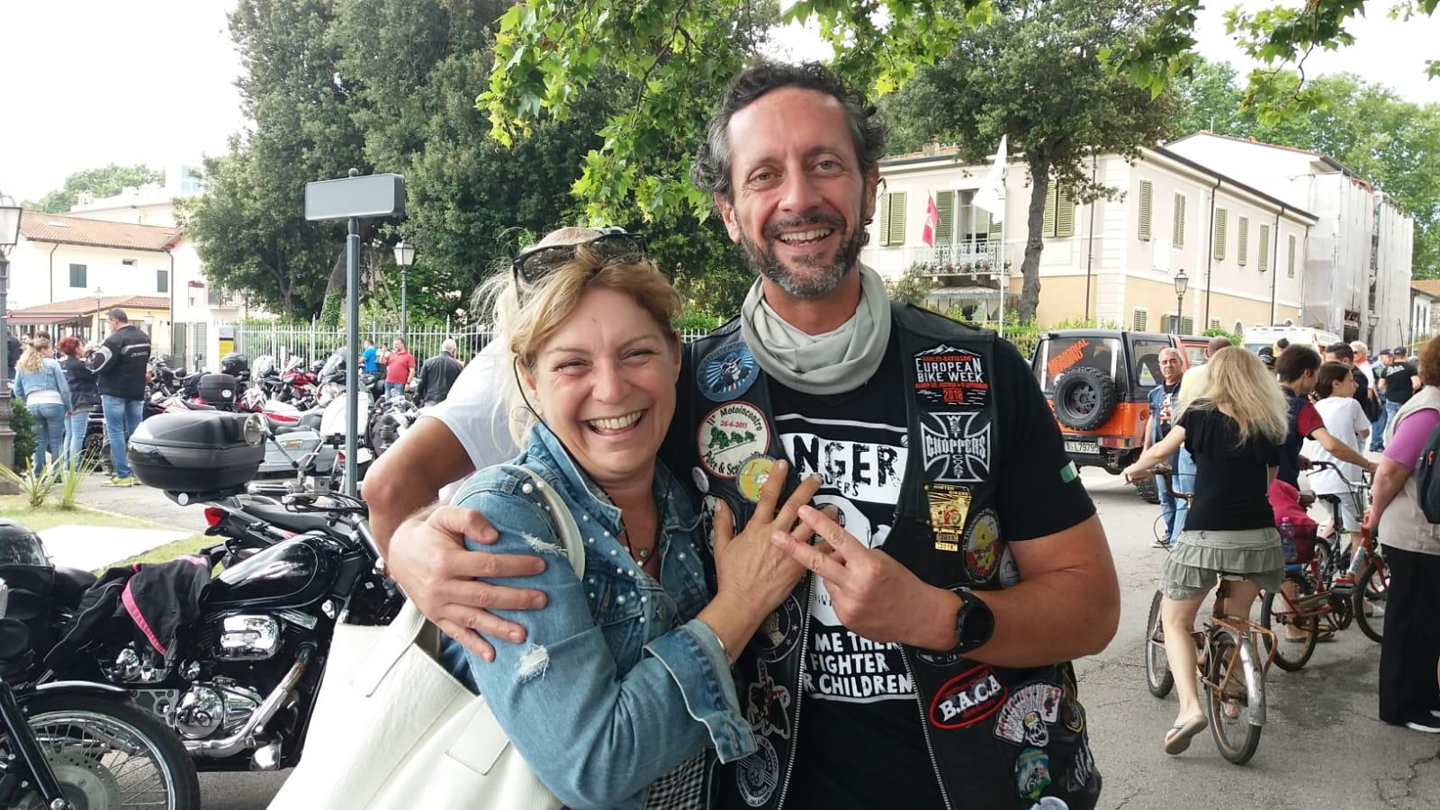 In 300 in moto per ricordare Pulce e Scarburato e le altre vittime della strage di Viareggio