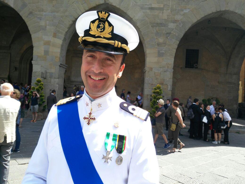 Federico Giorgi lascia Viareggio dopo 7 anni: sarà comandante a Gaeta