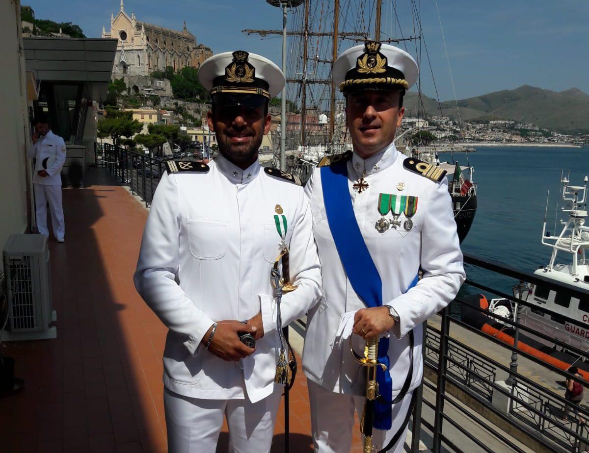 Da Viareggio a Gaeta, Federico Giorgi si insedia al comando