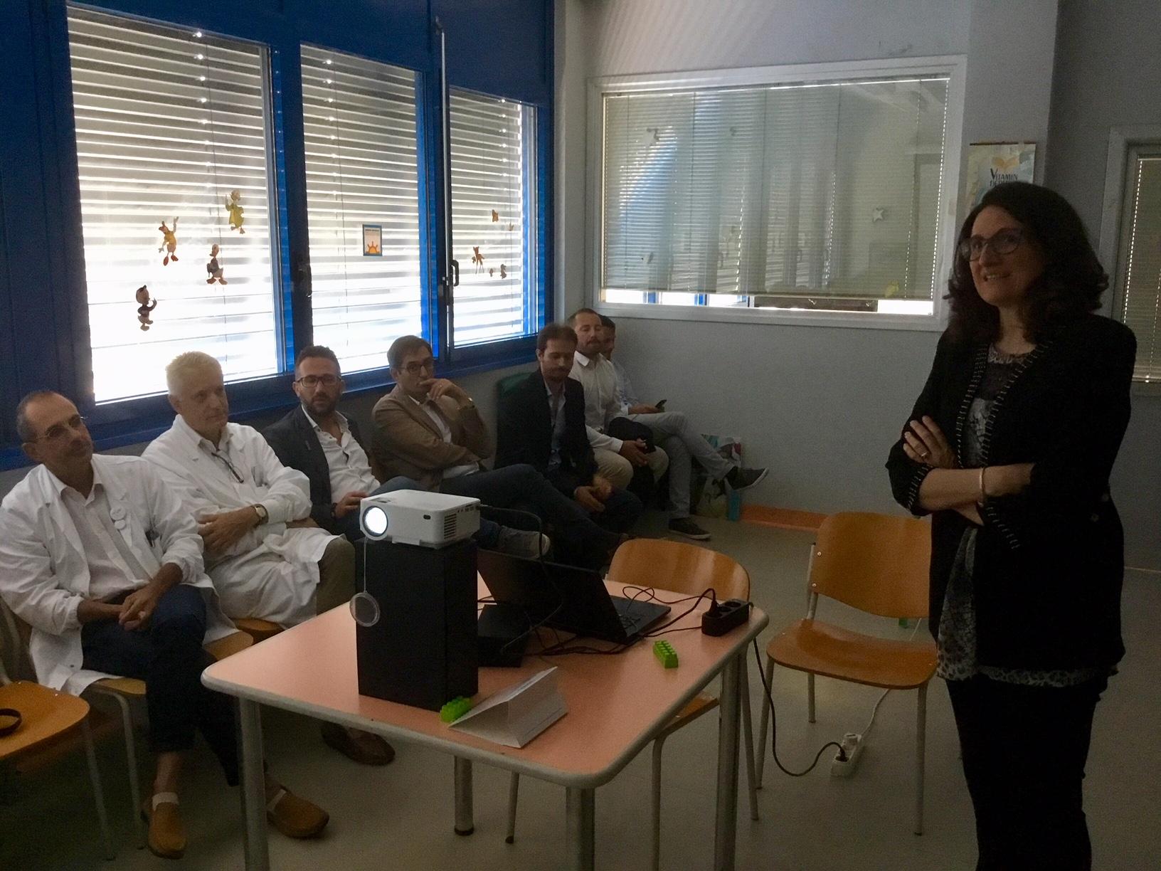 """L'ospedale """"Versilia"""" e l'AOUP insieme per i bambini: presentato il nuovo sistema di teleconsulto tra Pediatrie"""