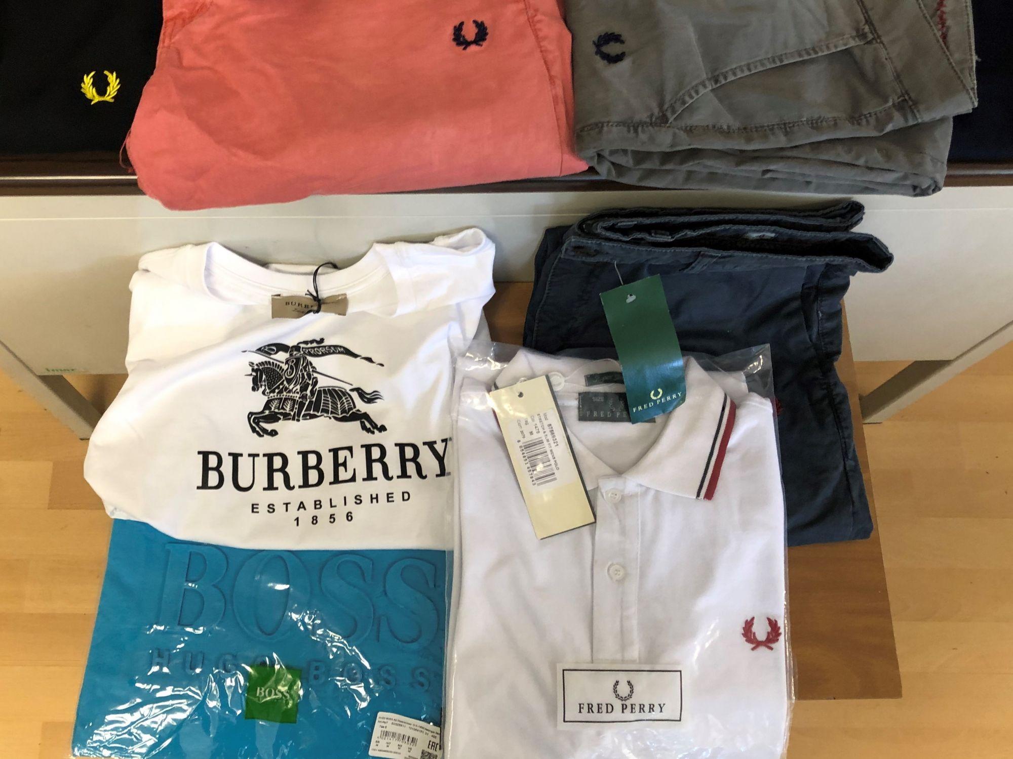 Lotta alla contraffazione, sequestrati 10.400 capi di abbigliamento ed accessori