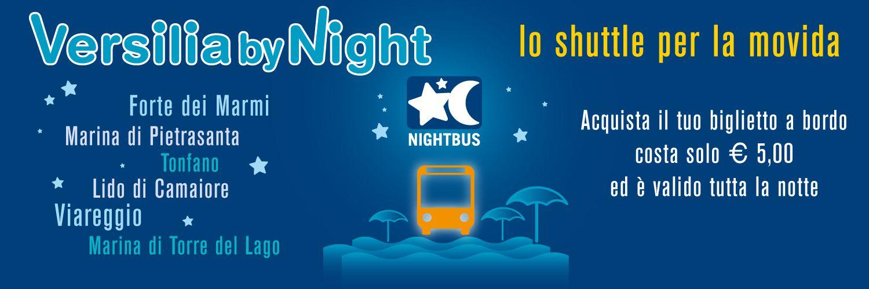 """Movida in sicurezza, torna il bus """"Versilia by night"""""""