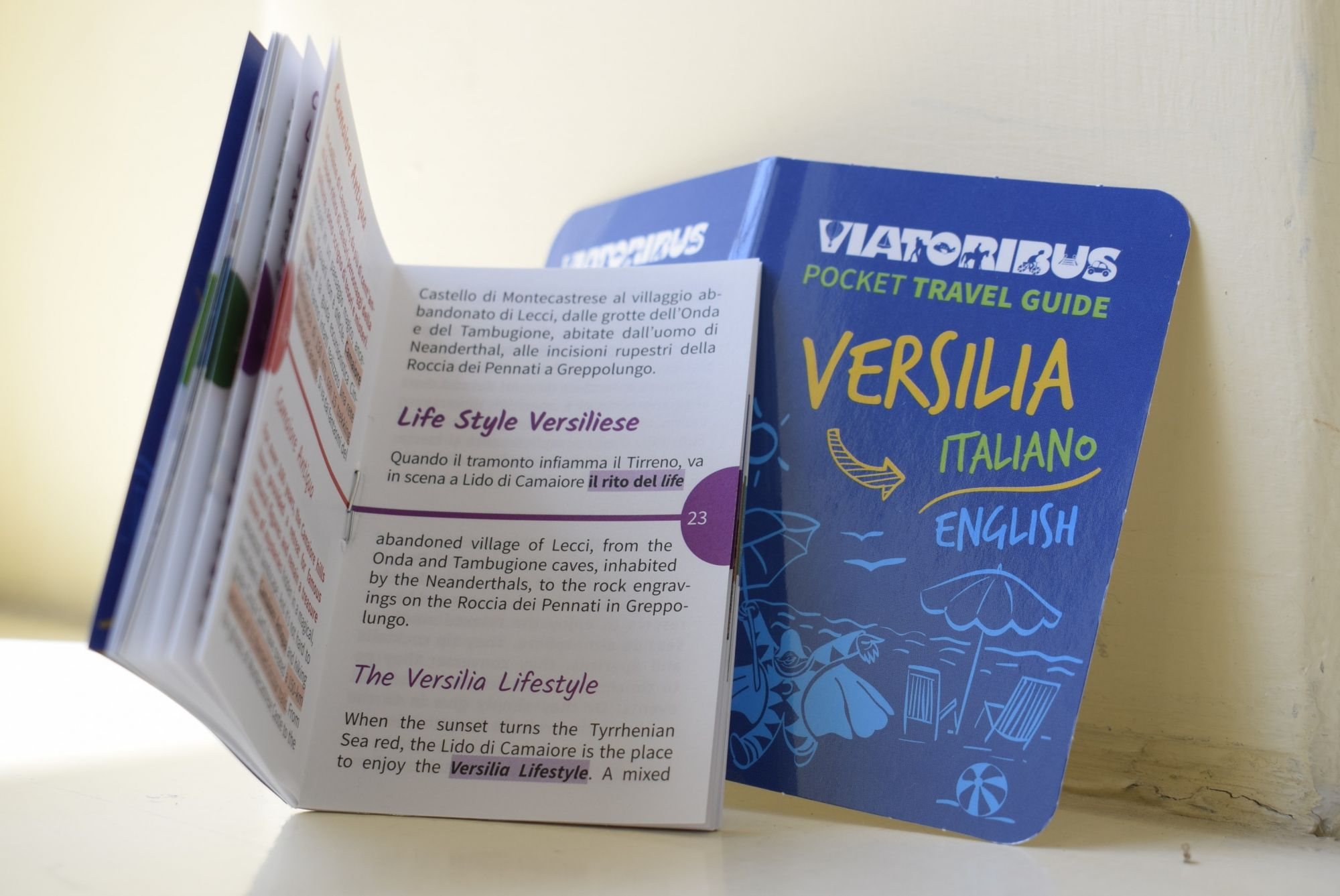 Tutta la Versilia in sei centimetri, ecco la nuova guida dell'estate