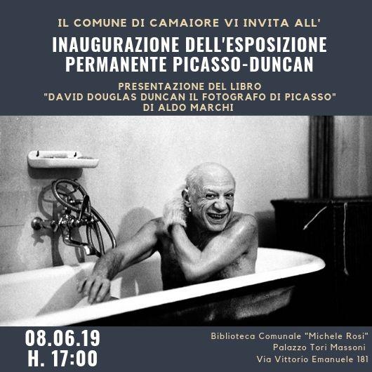 """A Camaiore inaugurazione dell'esposizione permanente """"Picasso-Duncan"""""""
