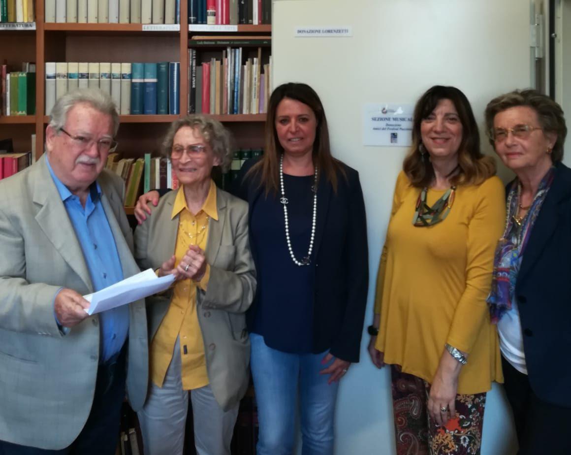 Alla biblioteca Marconi di Viareggio nasce una sezione musicale