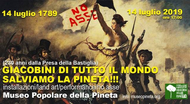 230mo anniversario della Rivoluzione Francese al Museo Popolare della Pineta