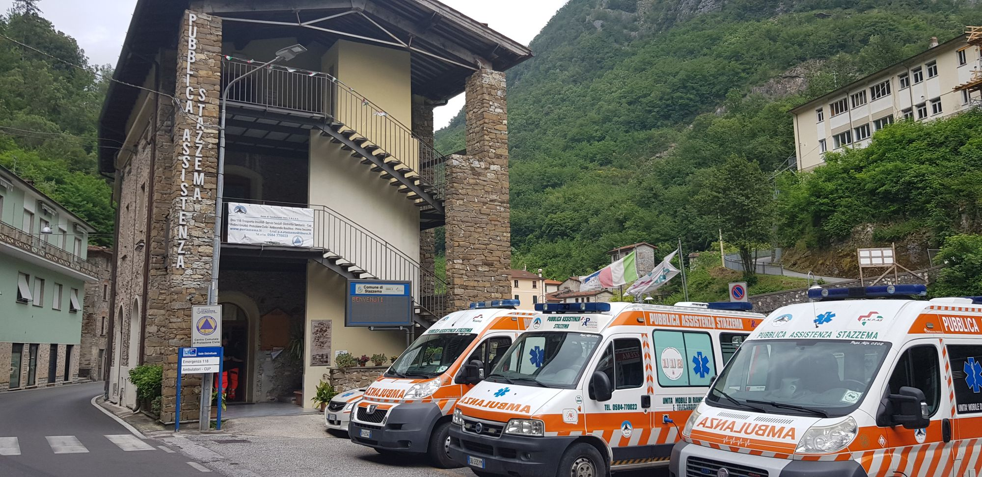 Distretto Asl di Pontestazzemese ancora senza medico dell'ambulanza