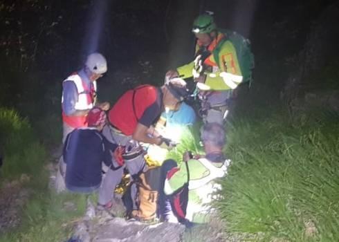 Escursionista livornese colto da spossatezza sulle Apuane e salvato dal Soccorso Alpino