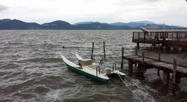Piogge, Lago sorvegliato speciale: accese le idrovore