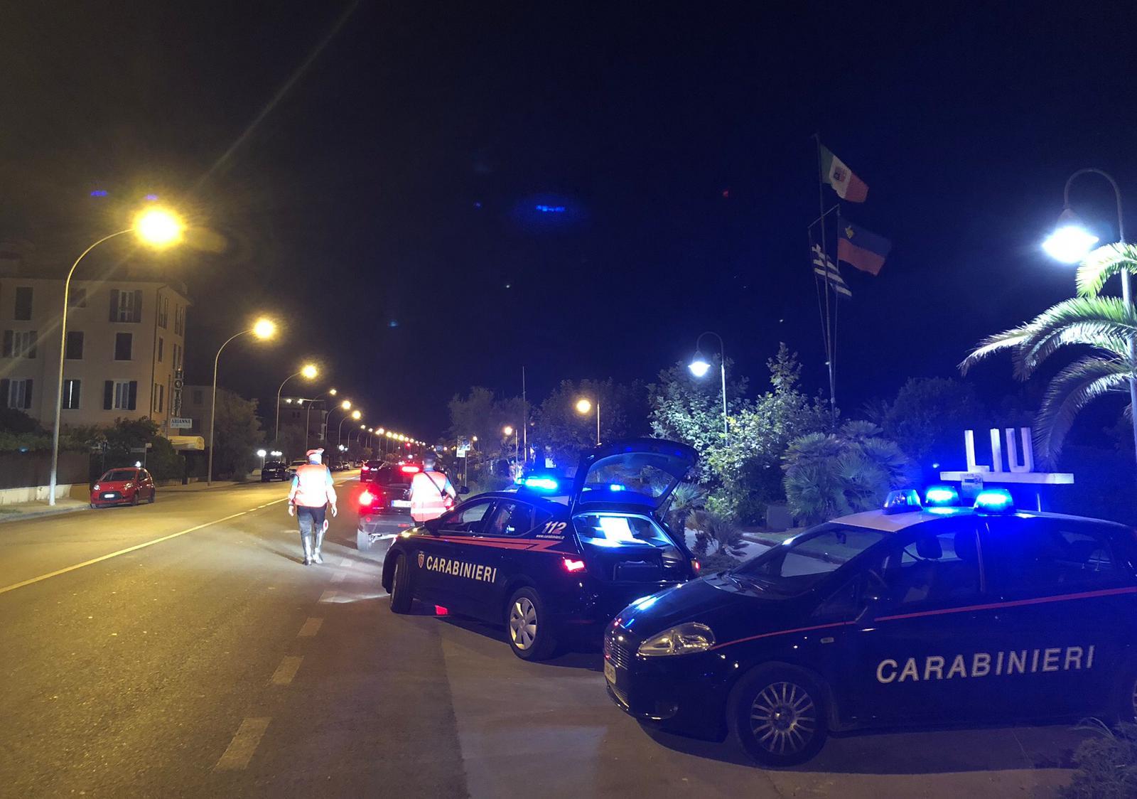 """Operazione """"Estate sicura"""" in Versilia: pattuglie dei Carabinieri nelle zone della movida e nelle aree più isolate,  arrestato """"topo d'appartamento"""""""