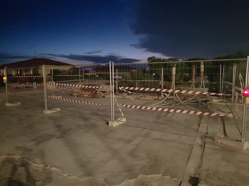Terrazza della Repubblica, un cantiere al buio: la denuncia della Lega di Viareggio